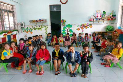 Trường mẫu giáo Hoa Ngọc Lan gặp mặt đầu năm, ngày làm việc đầu tiên sau tết Tân Sửu.