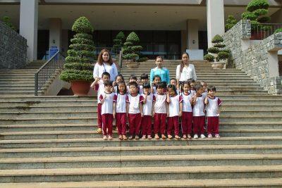 Những chuyến tham quan khu di tích, làng nghề của cô và trò trường MG Hoa Ngọc Lan