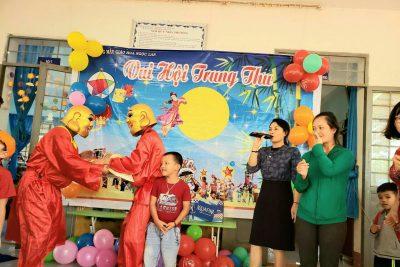 Trường MG Hoa Ngọc Lan vui Trung Thu